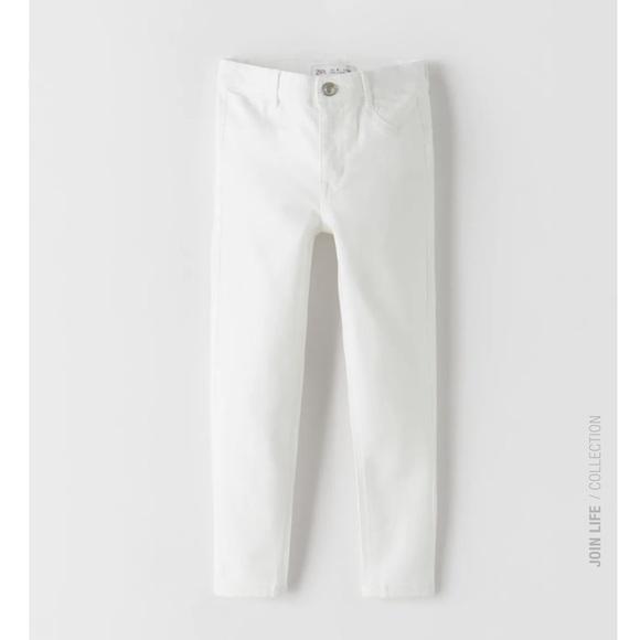 Zara Skinny High Waisted Jeans